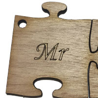 Wooden Mr Puzzle [+€1,00]