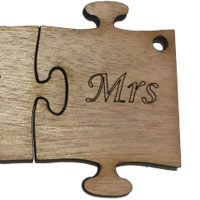Wooden Ms Puzzle [+€1,00]