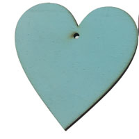 Siel Wooden Heart [+€2,00]